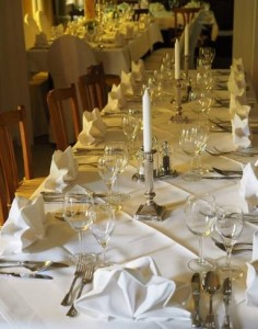 Zasady nakrywania stołów