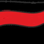 Dumna flaga biało-czerwona