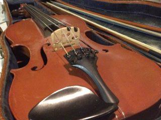 futerał ze skrzypcami